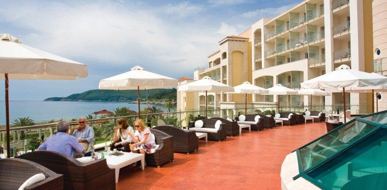 Hotel Splendid Spa Resort, terrace