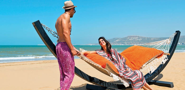 Sofitel Agadir Royal Bay Resort, beach hammock