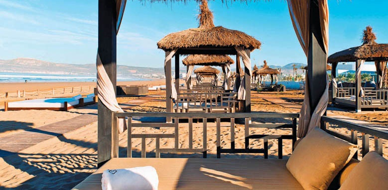 Sofitel Agadir Thalassa Sea & Spa, private beach