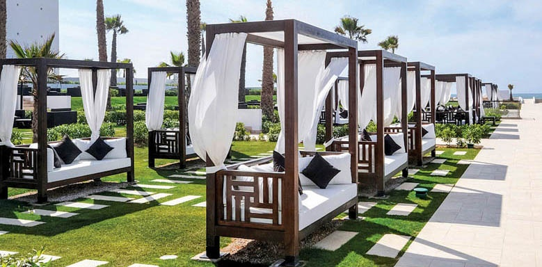 Sofitel Agadir Thalassa Sea & Spa, sun loungers