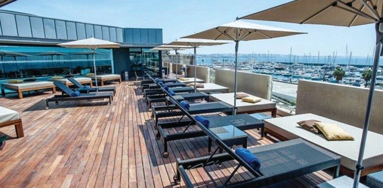 Pousada de Cascais – Cidadela Historic Hotel, terrace view