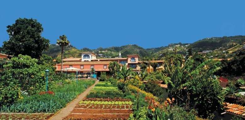 Quinta Splendida Wellness & Botanical Garden, herb garden