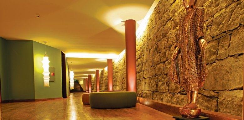 Quinta Splendida Wellness & Botanical Garden, spa entrance