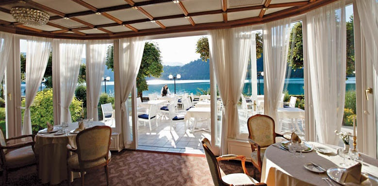 Grand Hotel Toplice, restaurant view