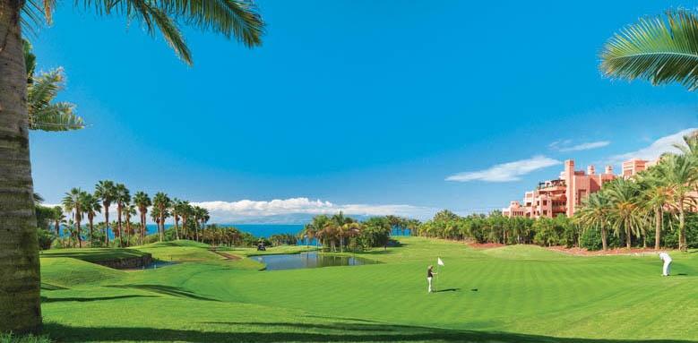 The Ritz-Carlton, Abama, golf course