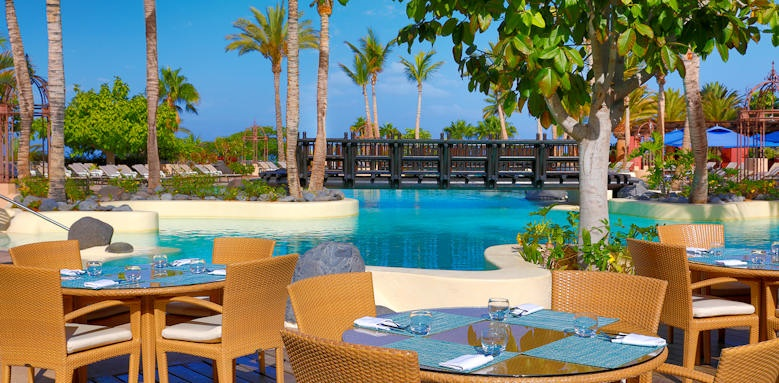 The Ritz-Carlton Abama, los chozos