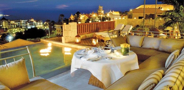 Las Villas Gran Hotel Bahia Del Duque, La Mimosas terrace