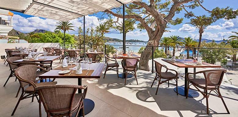 Hoposa Hotel Daina, outside dining