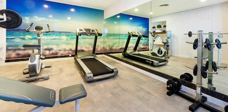 Hoposa Hotel Daina, gym
