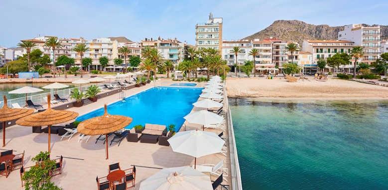 Hoposa Hotel Daina, pool & exterior