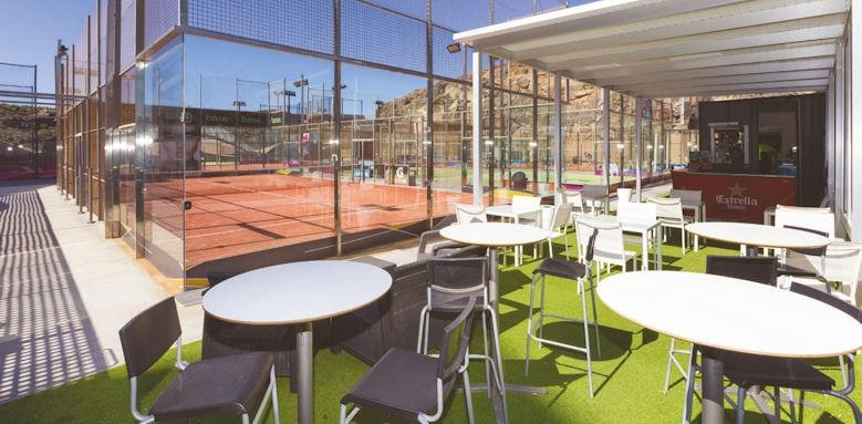 Gloria palace san augustin, tennis courts