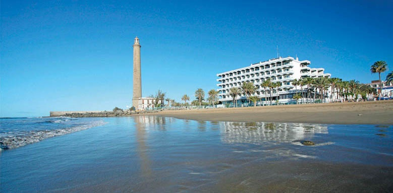 IFA Faro Hotel, hotel from beach