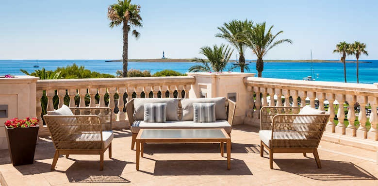 Insotel Punta Prima Prestige, terrace seating