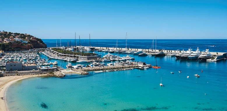 Pure Salt Port Adriano, view