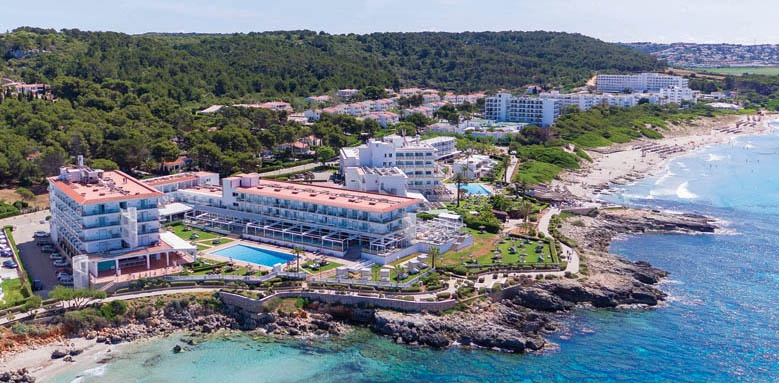 Sol Menorca, aerial view