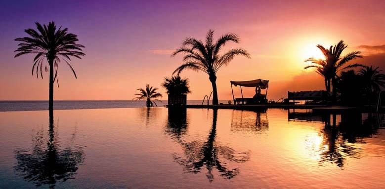 Vincci Seleccion Estrella Del Mar, Pool at Sunset