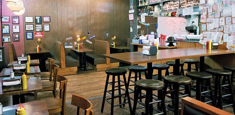 Le Parker Meridien New York, burger bar