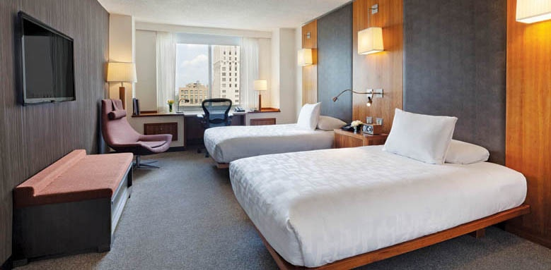 Le Parker Meridien New York, standard twin room