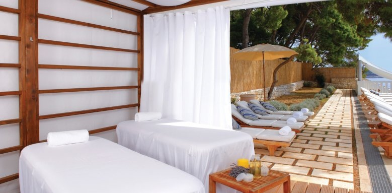 Amfora, Hvar Grand Beach Resort, massage tent