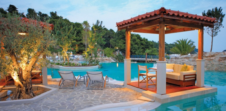 Amfora, Hvar Grand Beach Resort, cabana