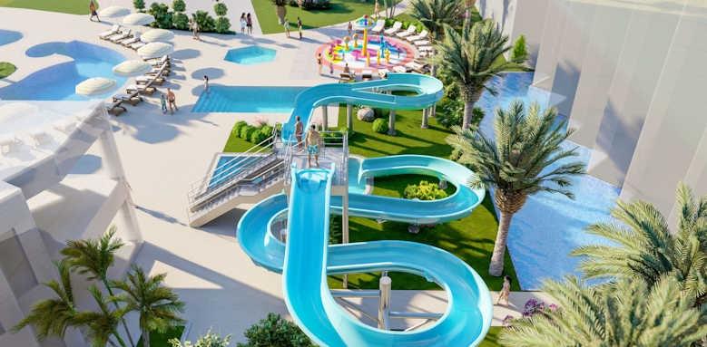 Constantinou Bros Athena Beach Hotel, water slides
