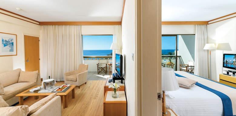 Constantinou Bros Athena Beach Hotel, One Bedroom Family Suite Sea View