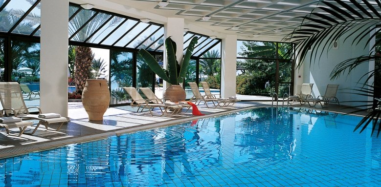 Constantinou Bros Athena Beach Hotel, indoor heated pool
