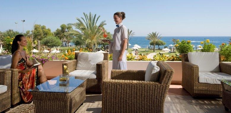 Constantinou Bros Athena Royal Beach Hotel, verandah
