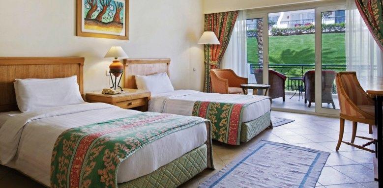 Hilton Sharm Waterfalls Resort, standard twin room