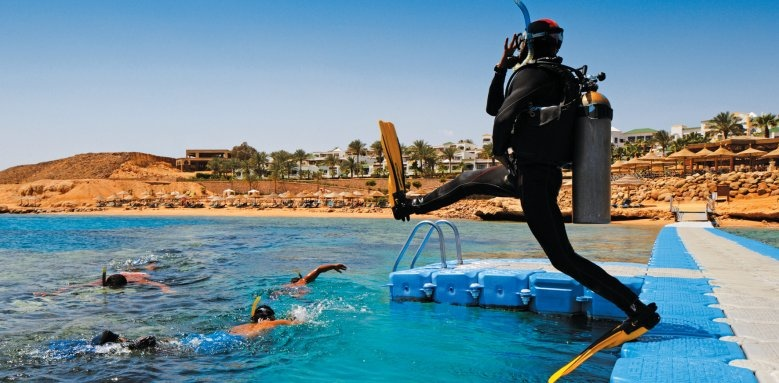 Hyatt Regency Sharm El Sheikh Resort, scuba diving