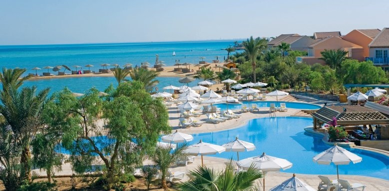 Movenpick Resort & Spa El Gouna, pool beach view