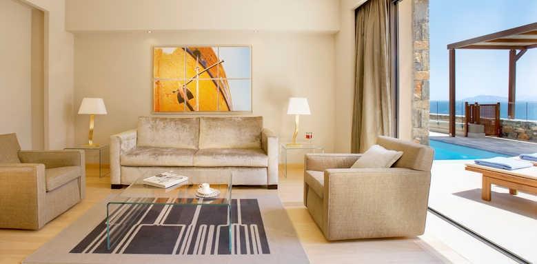 Daios Cove Luxury Resort & Villas, One Bedroom Suite Sea View