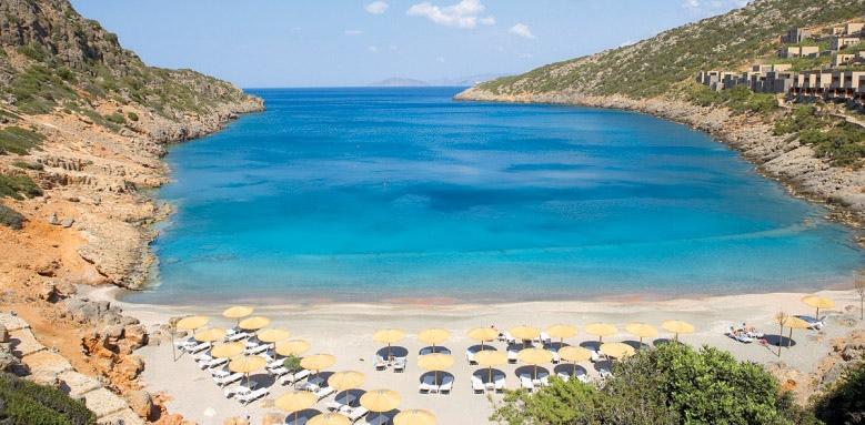 Daios Cove Luxury Resort & Villas, beach overview