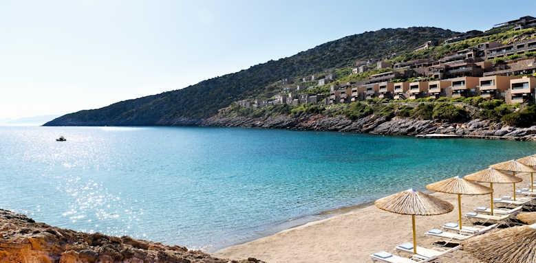 Daios Cove Luxury Resort & Villas, beach