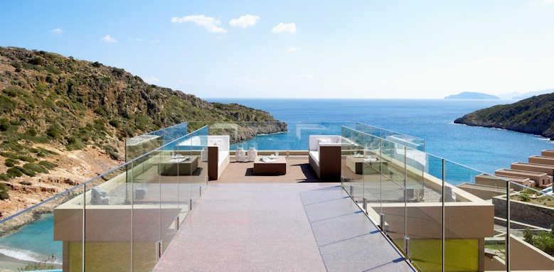 Daios Cove Luxury Resort & Villas, balvedere
