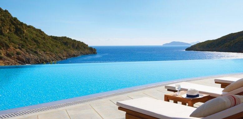 Daios Cove Luxury Resort & Villas, cove infinity pool