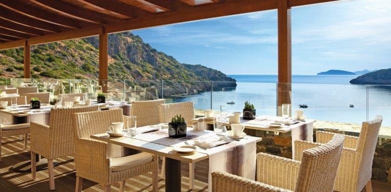 Daios Cove Luxury Resort & Villas, ocean restaurant