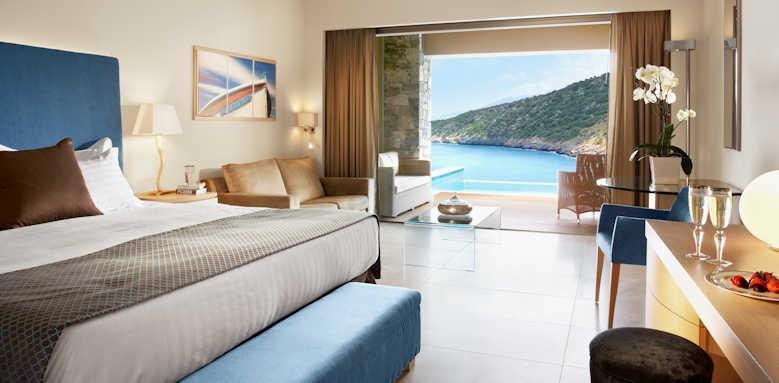 Daios Cove Luxury Resort & Villas, Deluxe with Individual Pool Sea View
