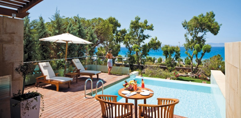 Elite Suites Amathus Beach Hotel Rhodes, executive suite
