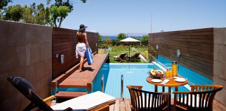 Elite Suites Amathus Beach Hotel Rhodes, private pool