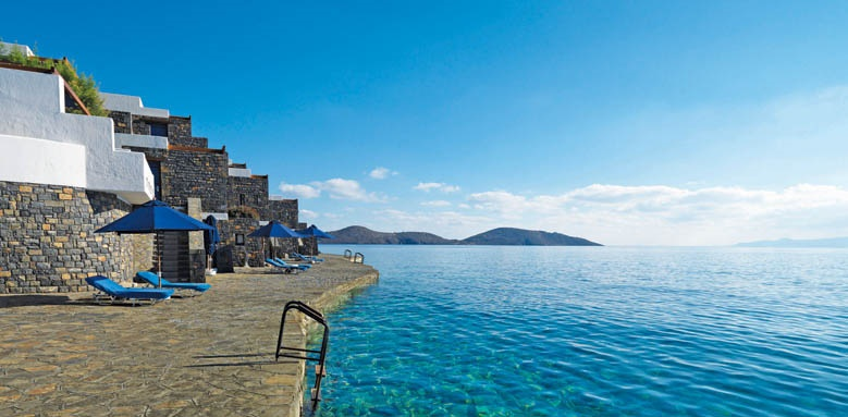 Elounda Beach Hotel, waterfront bungalows