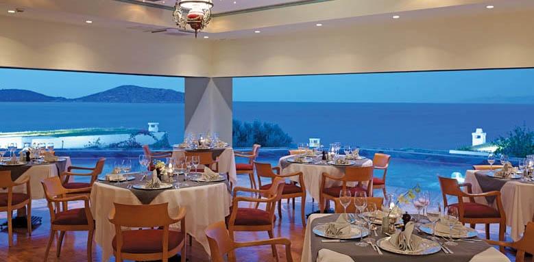 Elounda peninsula, restaurant