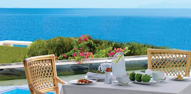 Elounda Peninsula All Suite Hotel, Calypso breakfast