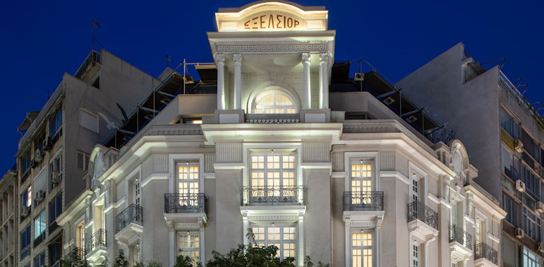 Excelsior Hotel Thessaloniki, night view
