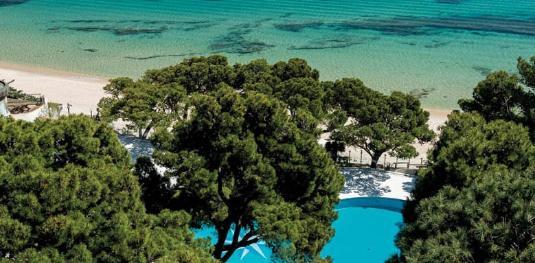 Hotel Castello, pool and sea view