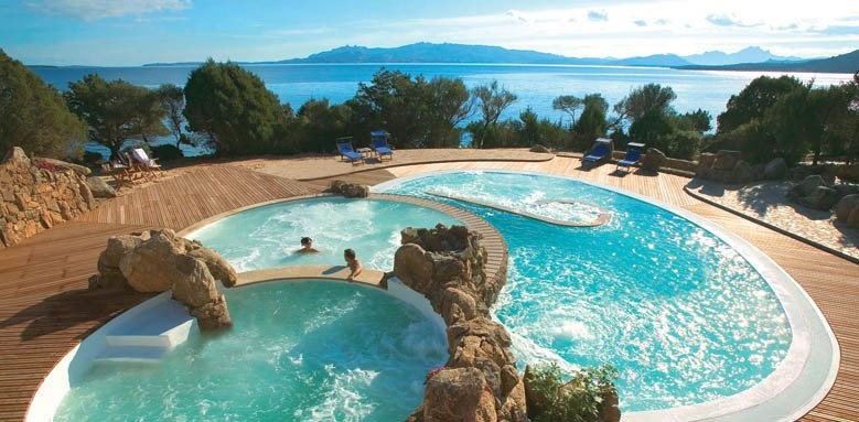 Hotel Capo d'Orso Thalasso & Spa, view of pool