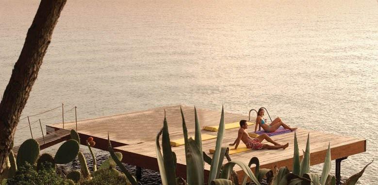 Hotel Capo d'Orso Thalasso & Spa, jetty