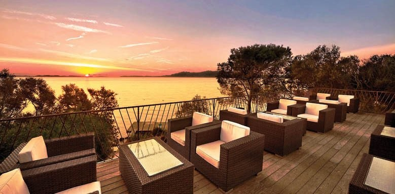 Hotel Capo d'Orso Thalasso & Spa, terrace