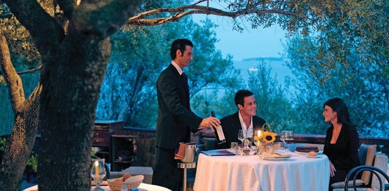 Hotel Capo d'Orso Thalasso & Spa, couple dinner