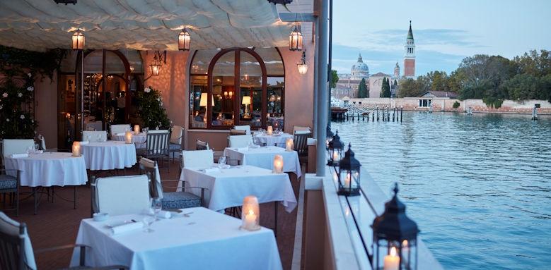 belmond hotel cipriani, restaurant terrace